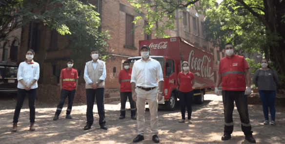 #JUNTOSHACEMOSLADIFERENCIA: EL ESFUERZO COLECTIVO QUE IMPULSA COCA-COLA PARA ENFRENTAR LA PANDEMIA