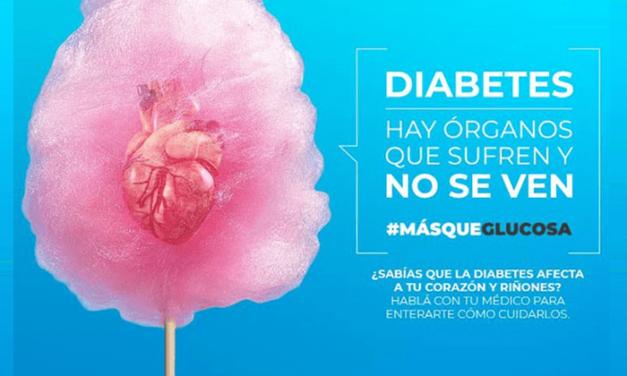 """DIABETES EN ARGENTINA: POR SEGUNDO AÑO SE LANZA LA CAMPAÑA """"MÁS QUE GLUCOSA"""""""
